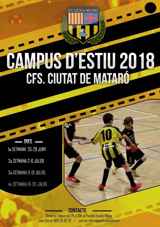 Campus Estiu CFS Ciutat Mataró 2018