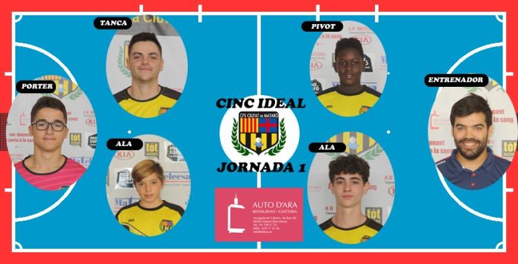 CINC IDEAL JORNADA 1
