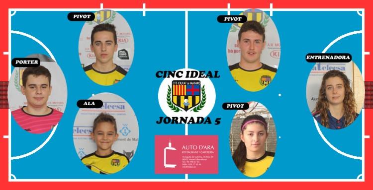 CINC IDEAL JORNADA 5
