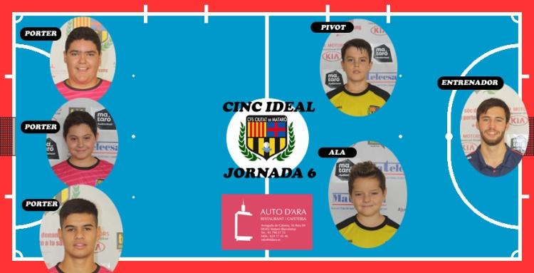 CINC IDEAL JORNADA 6