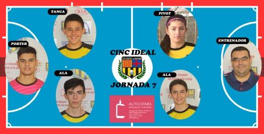 CINC IDEAL JORNADA 7
