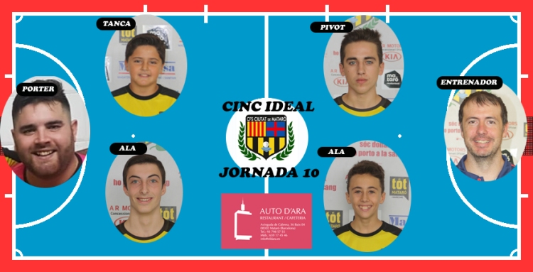 CINC IDEAL JORNDA 10