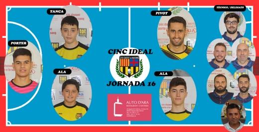 CINC IDEAL JORNADA 16