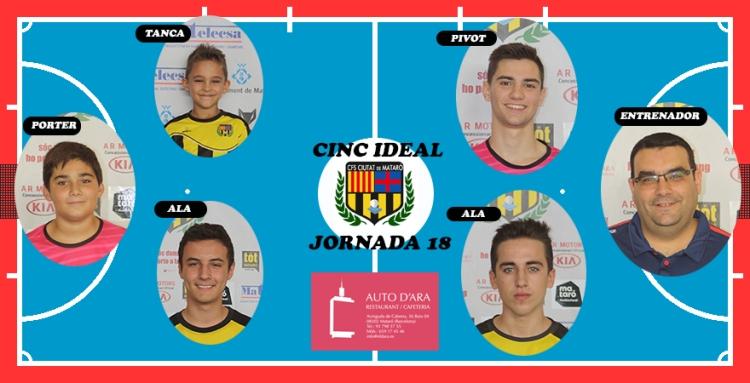 CINC IDEAL JORNADA 18