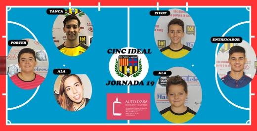 CINC IDEAL JORNADA 19