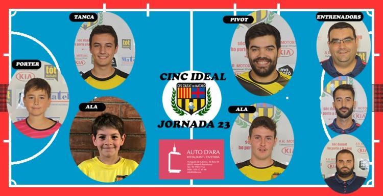 CINC IDEAL JORNADA 23